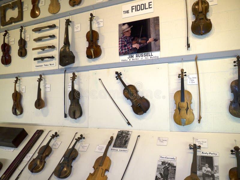 O museu do Appalachia, Clinton, Tennesee, EUA imagem de stock royalty free