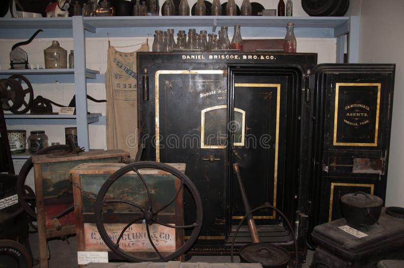O museu do Appalachia, Clinton, Tennesee, EUA imagem de stock