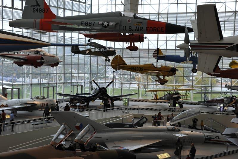 O museu do vôo, Seattle foto de stock