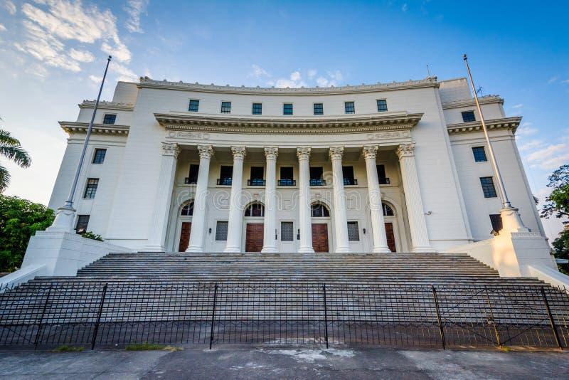 O museu dos povos filipinos, no parque de Rizal, em Ermita, encontrado imagens de stock royalty free