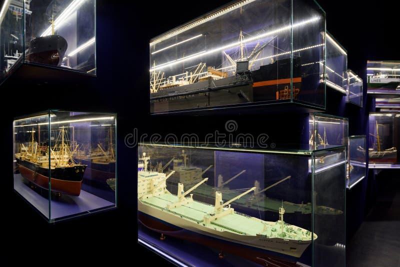 O museu e o aquário marítimos em Gothenburg, imagem de stock royalty free