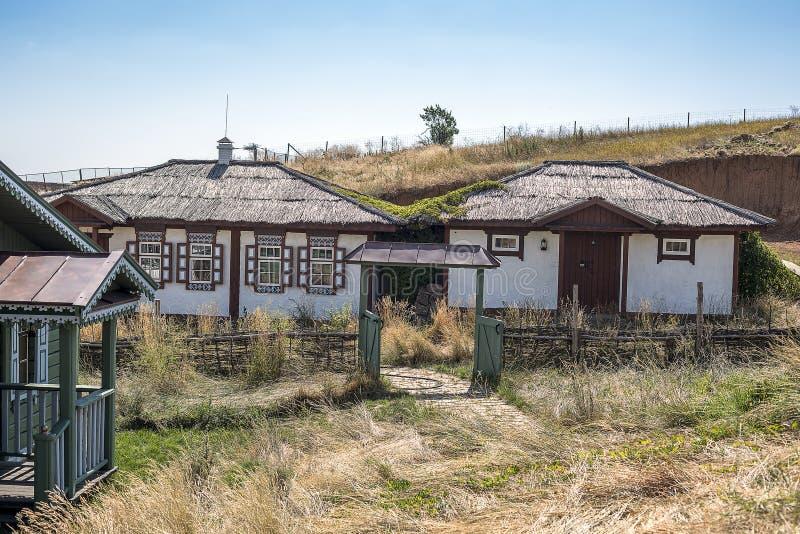 O museu etnográfico de Don Cossacks no ar livre fotografia de stock