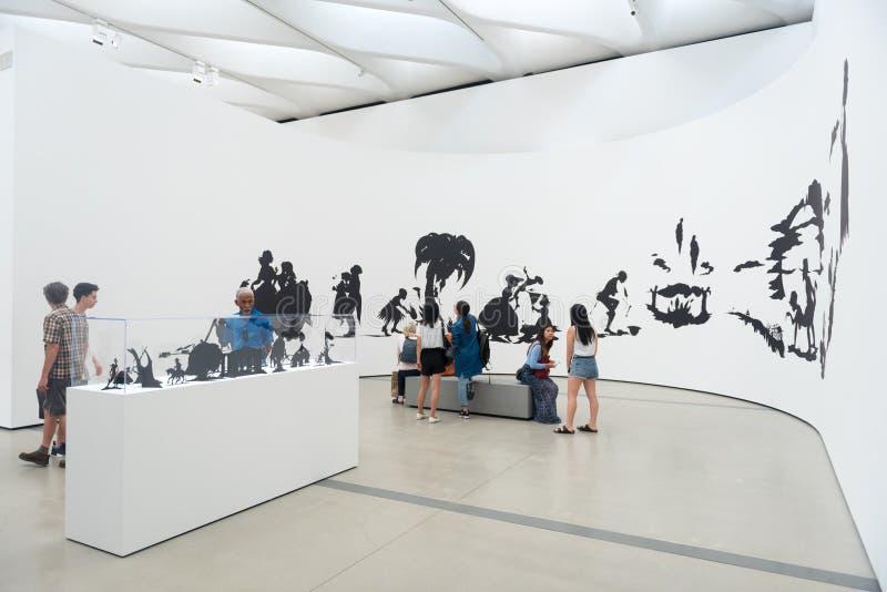 O museu largo foto de stock