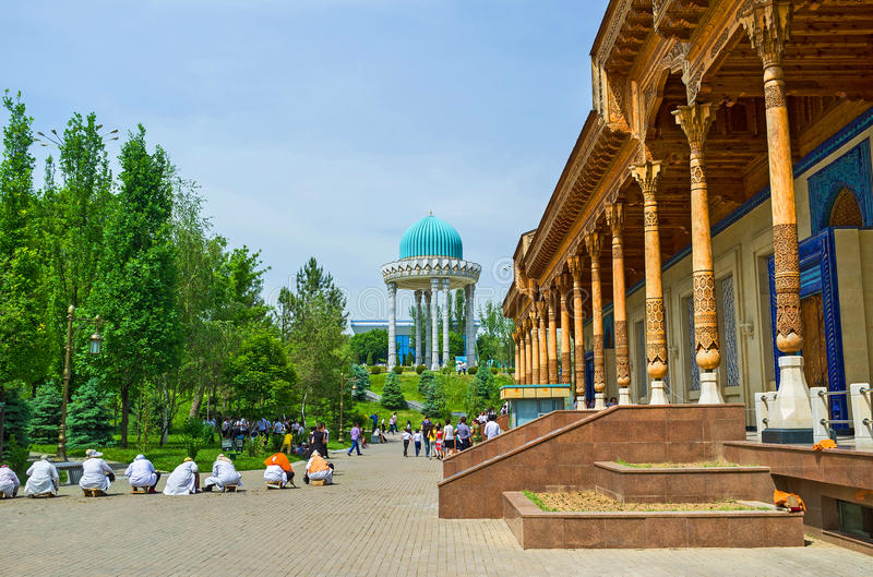 O museu memorável de Usbequistão fotografia de stock royalty free