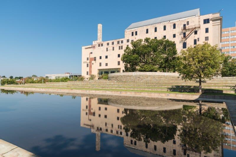 O museu memorável nacional de Oklahoma City imagem de stock