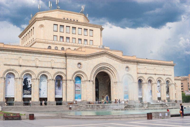 O museu nacional da história de Armênia fotografia de stock