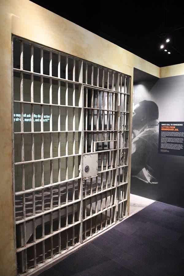 O museu nacional dos direitos civis em Memphis Tennessee foto de stock