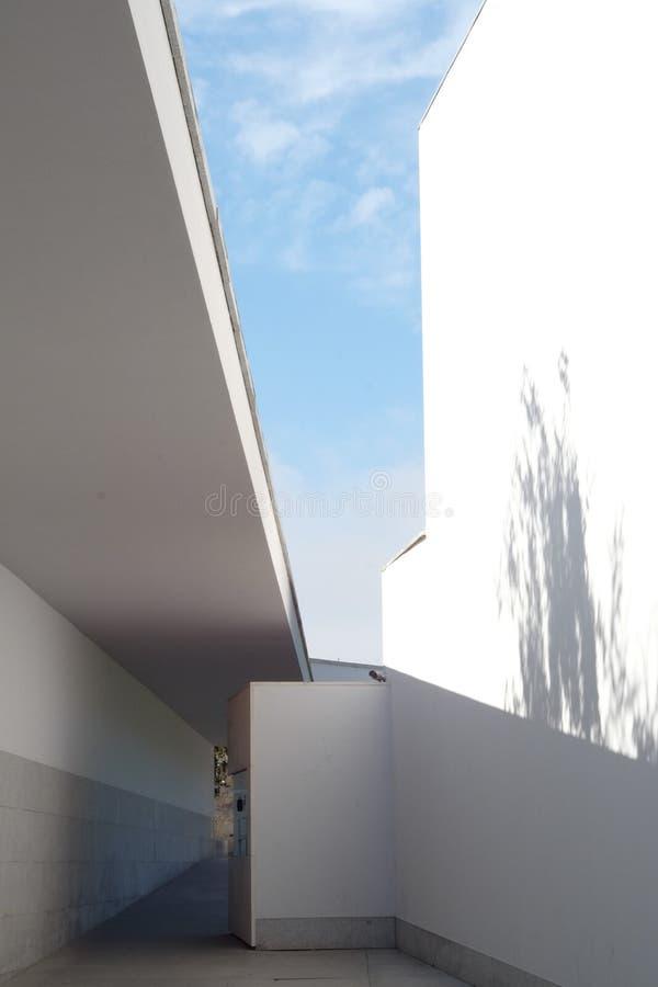 O museu - Serralves, Porto imagem de stock