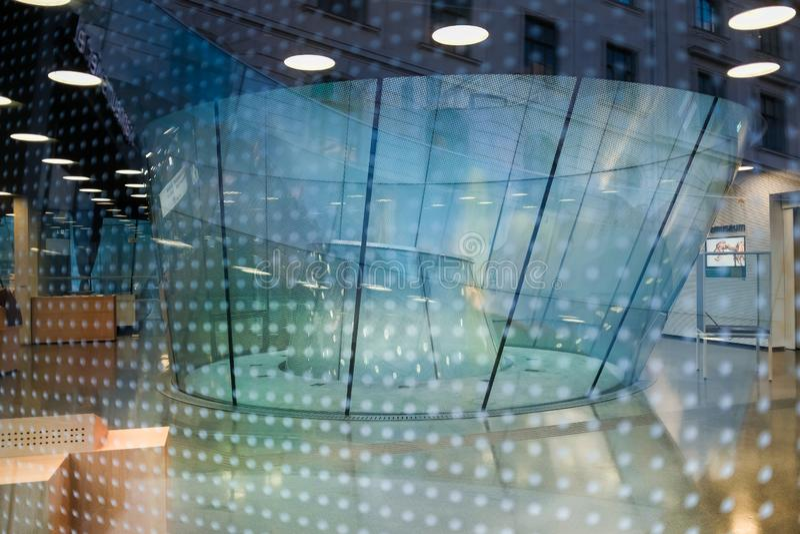 O museu universal de Joanneum em Graz imagens de stock royalty free