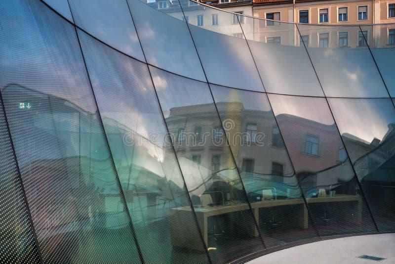 O museu universal de Joanneum em Graz imagem de stock