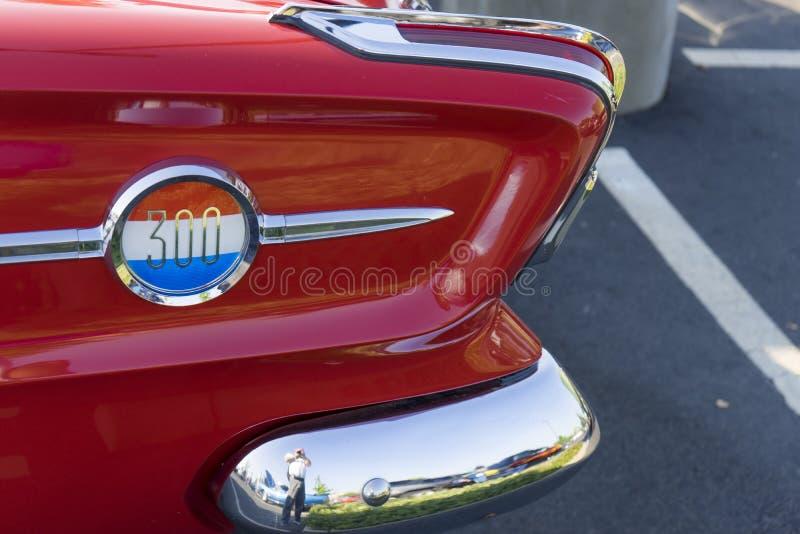 300 o número do animal por Chrysler foto de stock