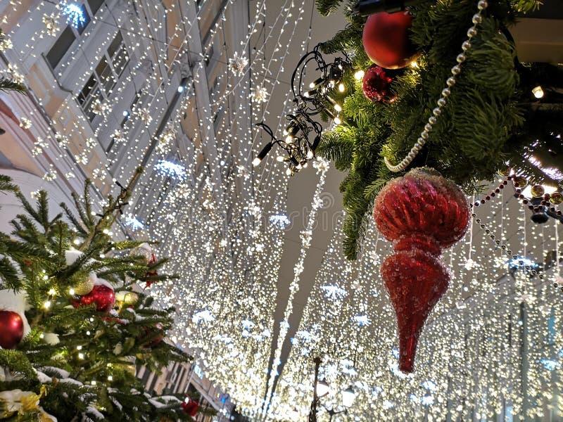 O Natal est? toda ao redor fotografia de stock royalty free