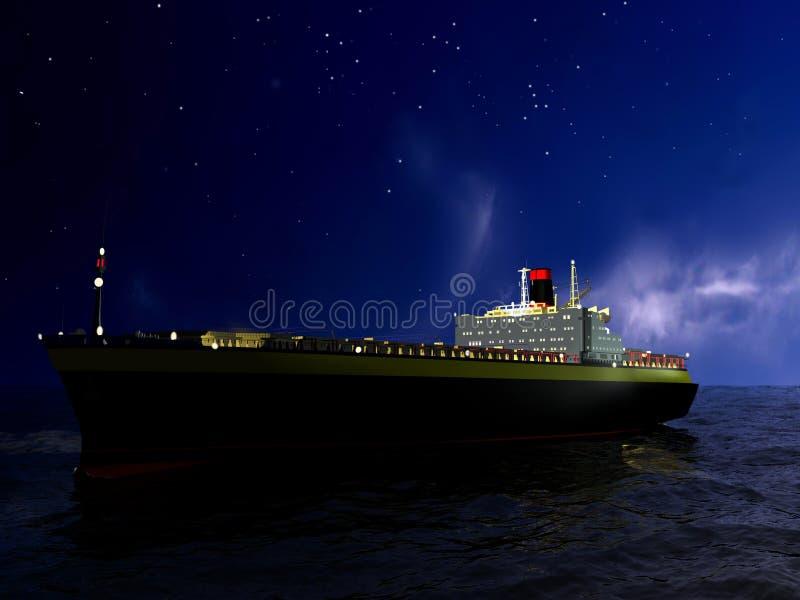 O navio ilustração royalty free