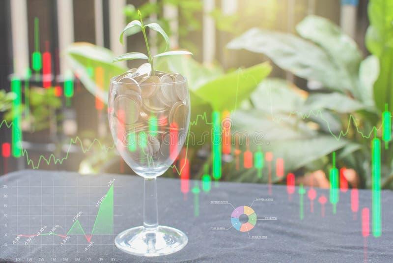 O negócio e o mercado financeiro financeiros Mercado de valores de ac??o imagem de stock royalty free