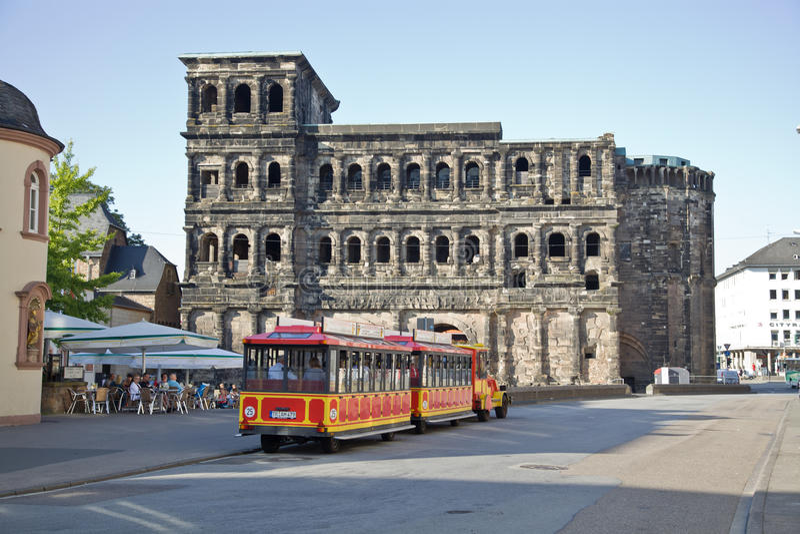 O negro de Porta (porta preta), Trier imagem de stock royalty free
