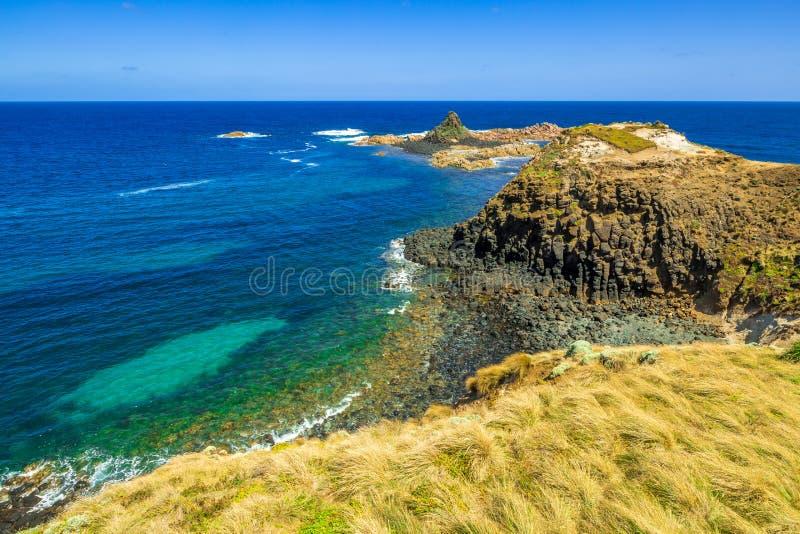 O Nobbies Phillip Island fotos de stock