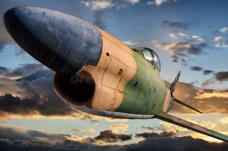 O ` norte-americano do cão do sabre do ` de F-86D imagem de stock royalty free
