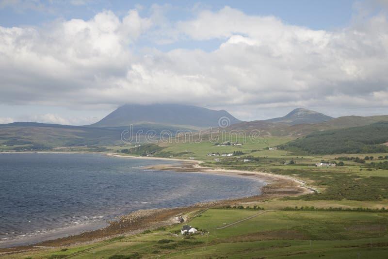 O norte da ilha de Arran foto de stock