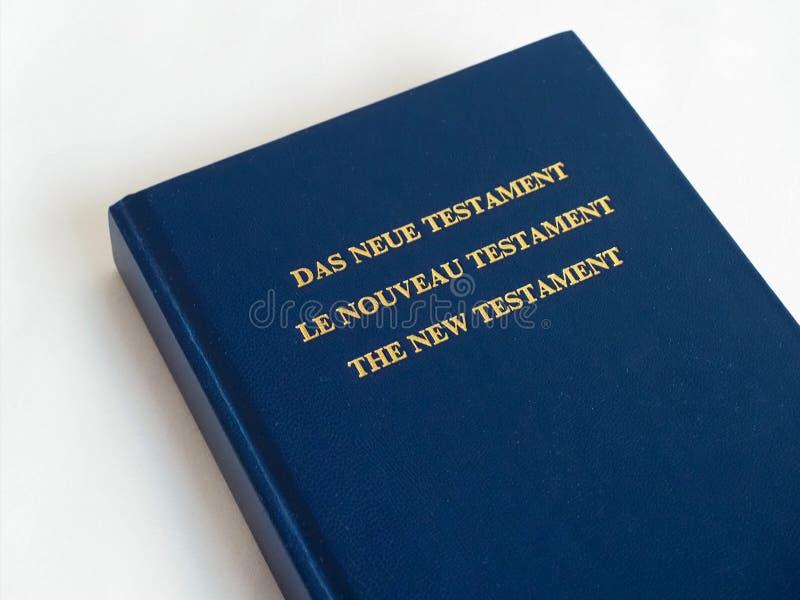 O Novo Testamento fotografia de stock royalty free