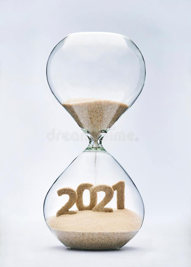 A?o Nuevo 2021 imagen de archivo libre de regalías