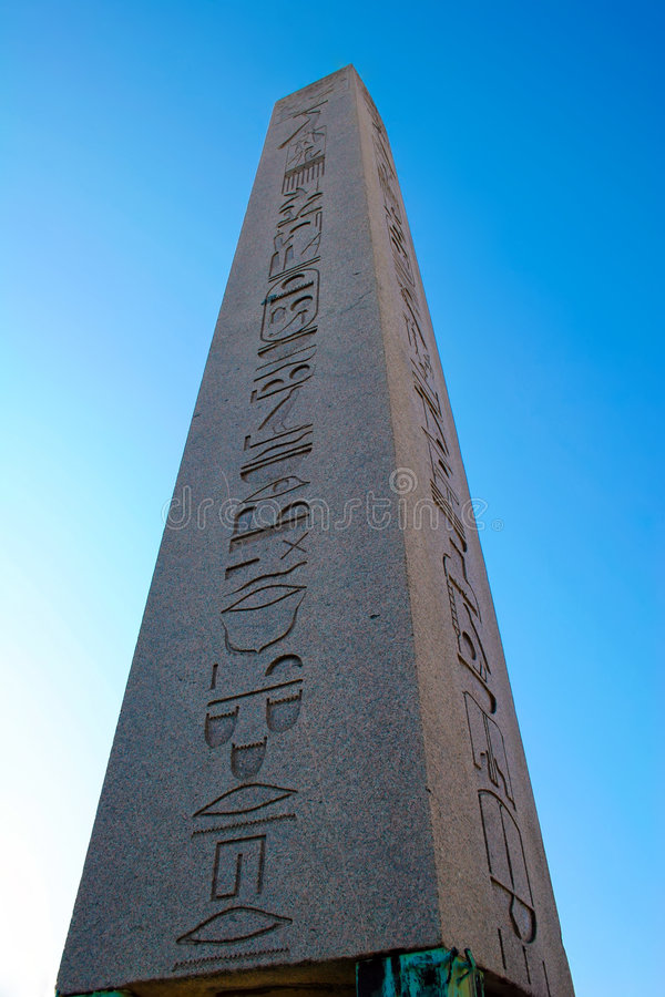 O Obelisk foto de stock