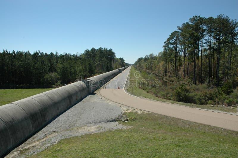 O obervatório LIGO da Gravitacional-onda do interferômetro do laser foto de stock