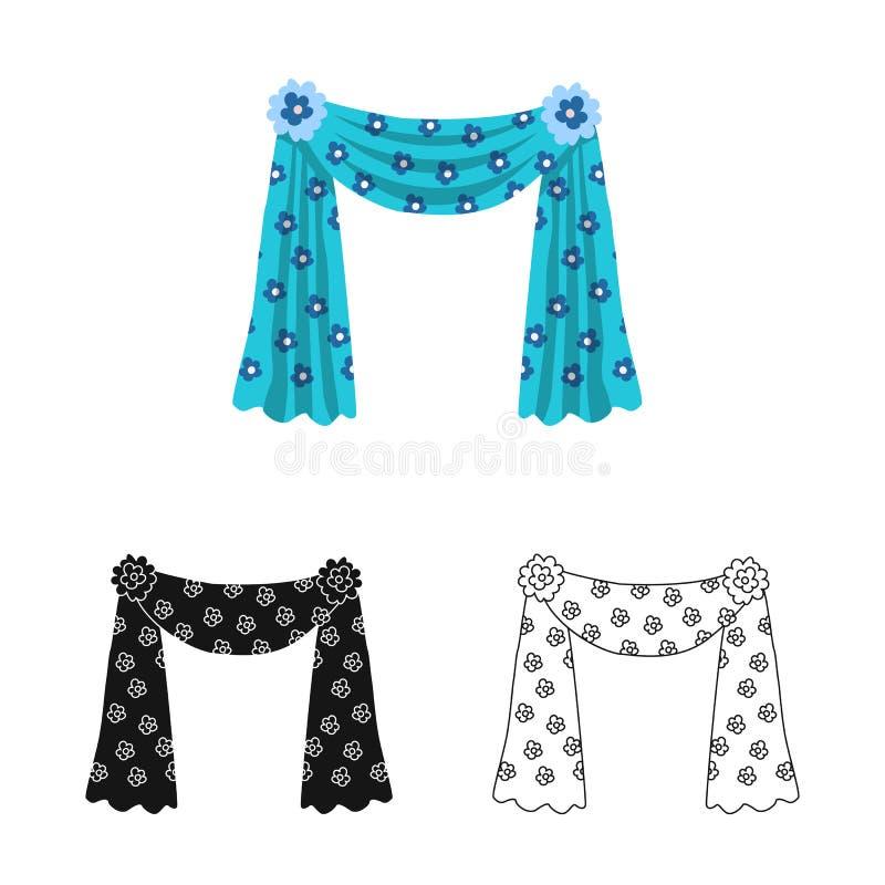 O objeto isolado de drapeja e s?mbolo azul Ajuste de drapeja e s?mbolo de a??es do cosiness para a Web ilustração stock