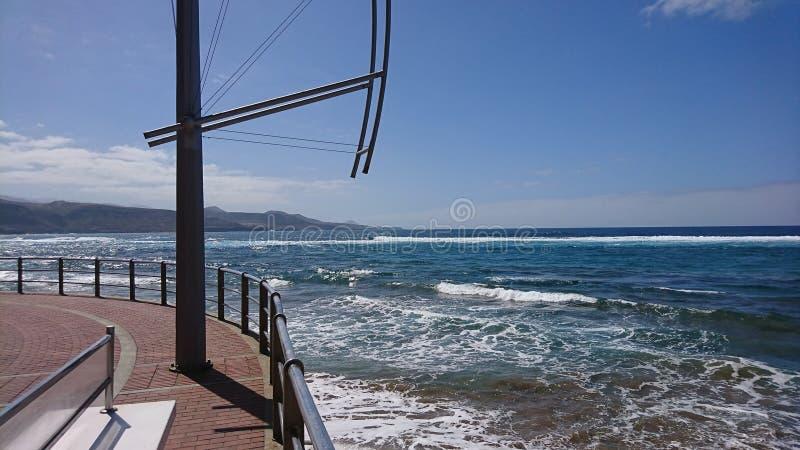 O oceano fotografia de stock