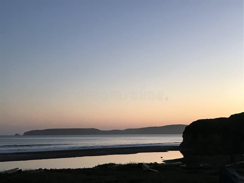 O oceano Sunset fotos de stock