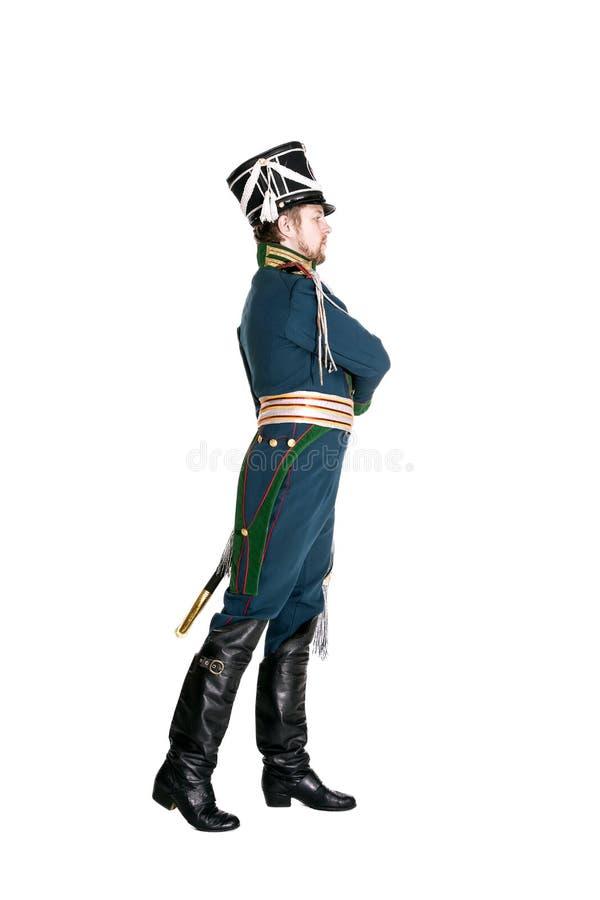 O oficial dos protetores Jaeger Regiment fotos de stock