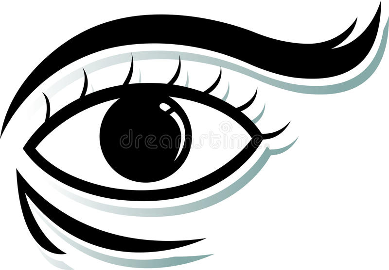 O olho imagem de stock royalty free