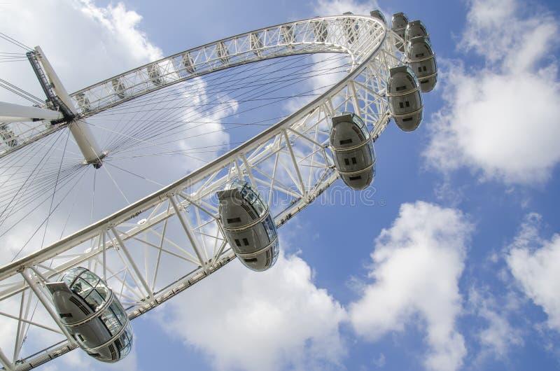 O olho de Londres foto de stock royalty free