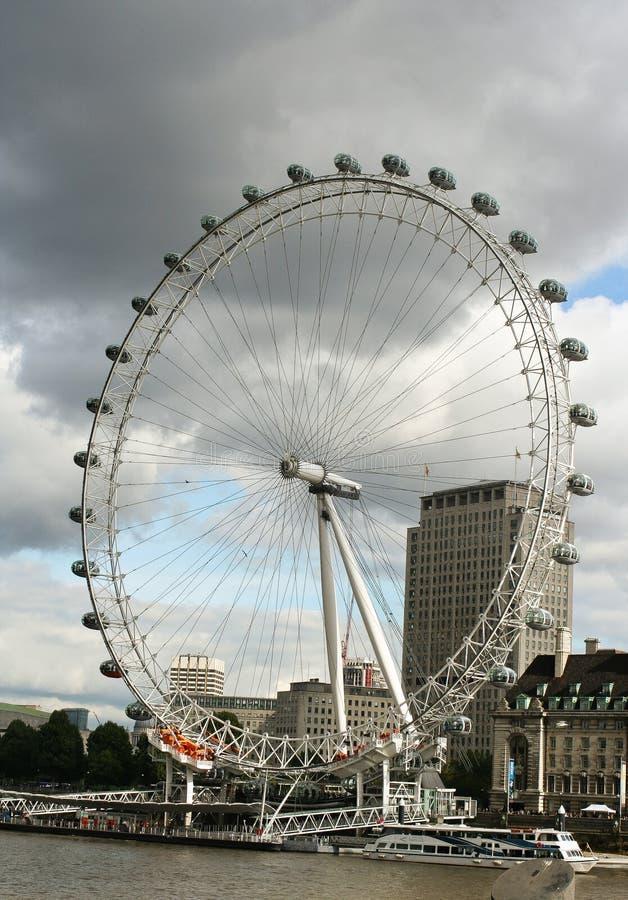 O olho de Londres fotos de stock