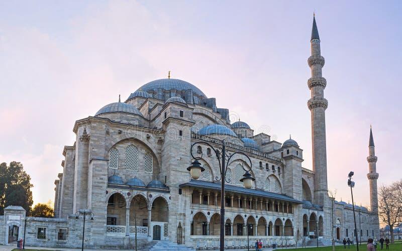 O orgulho de Istambul imagens de stock