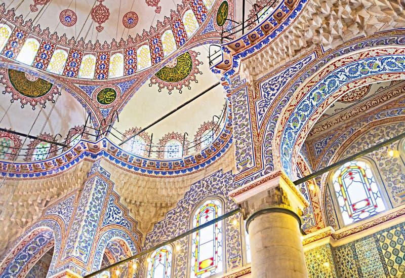 O orgulhoso de Istambul imagens de stock royalty free