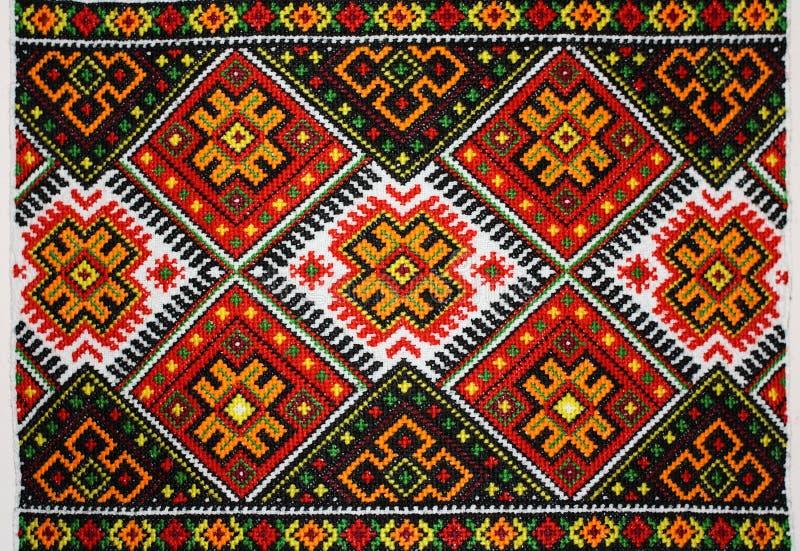 O ornamento ucraniano fotografia de stock
