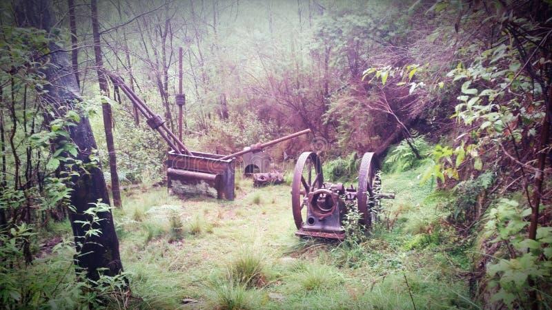 O ouro das minas de Deptford é onde você o encontra fotografia de stock
