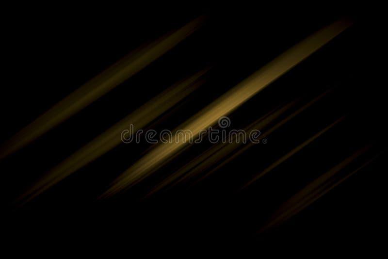 O ouro e os fundos pretos são claros - o cinza com branco o inclinação claro é a diagonal imagens de stock royalty free
