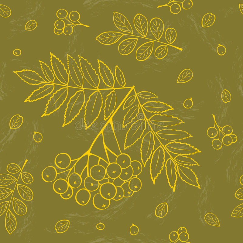 O outono folheia fundo ilustração do vetor