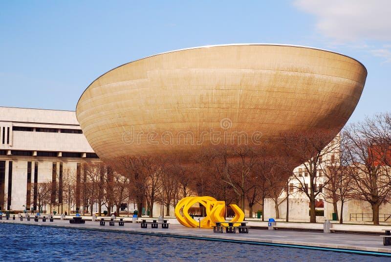 O Ovo, um centro de artes performativas, Albany, Nova Iorque fotos de stock