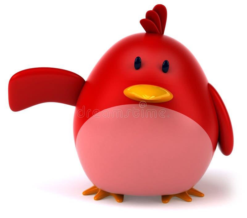 Download Pássaro vermelho ilustração stock. Ilustração de olhos - 29847757