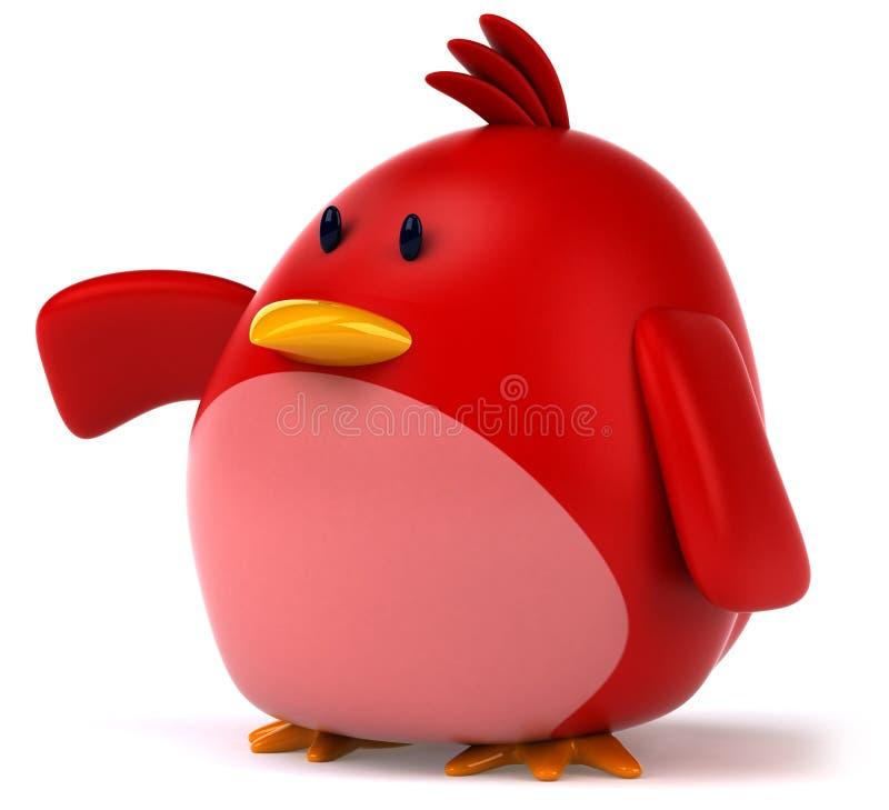 Download Pássaro vermelho ilustração stock. Ilustração de humor - 29847772