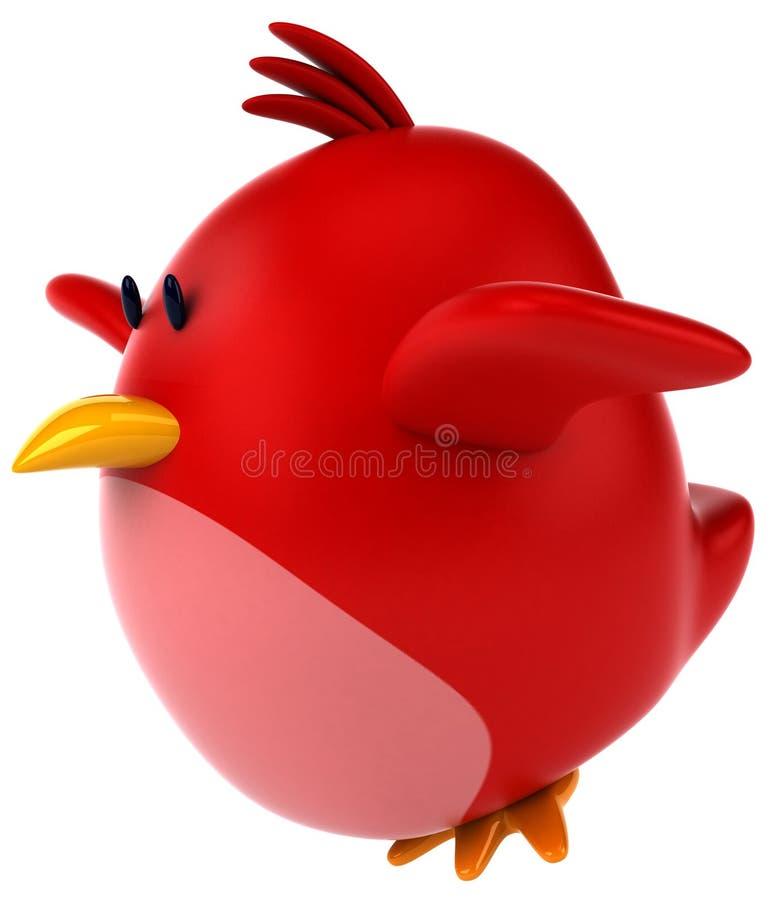 Download Pássaro vermelho ilustração stock. Ilustração de animal - 29847778