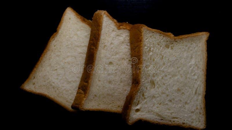 O pão dois para o café da manhã é fácil foto de stock royalty free