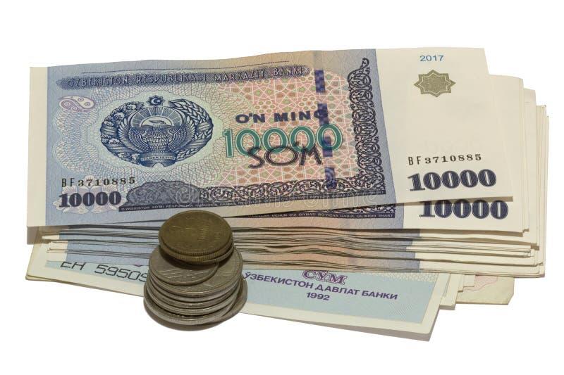 """O pacote do soÊ"""" m de Uzbekistani foto de stock royalty free"""