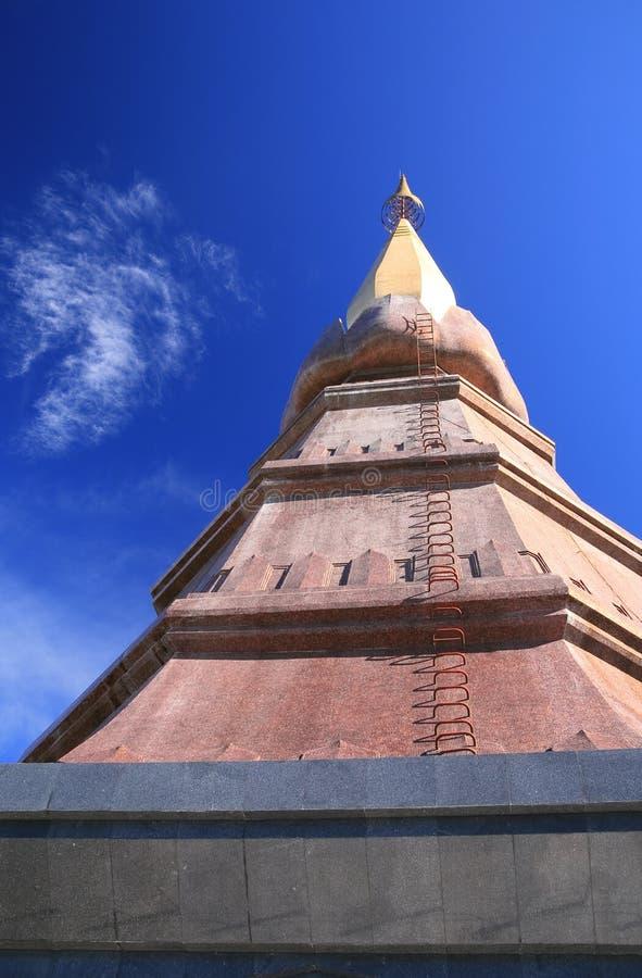 O Pagoda dourado fotografia de stock