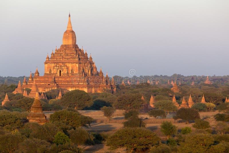 O pagode de Sulamani em Bagan imagem de stock