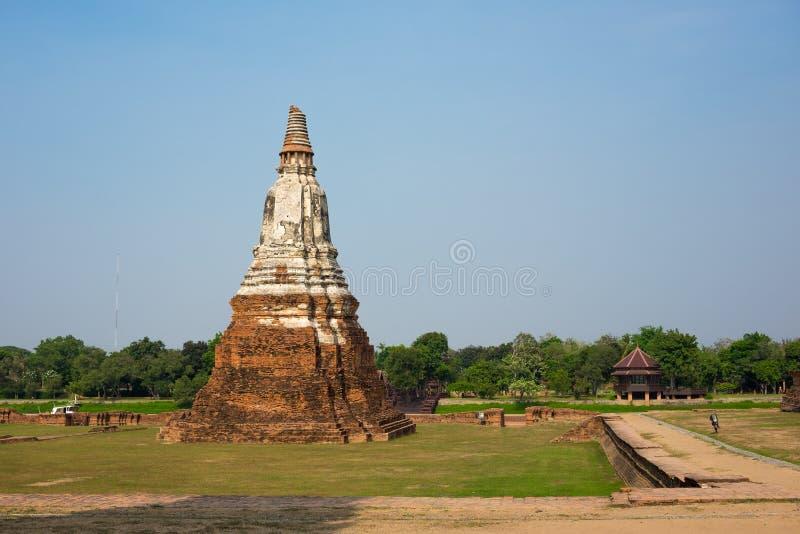 O pagode em Ayutthaya imagem de stock