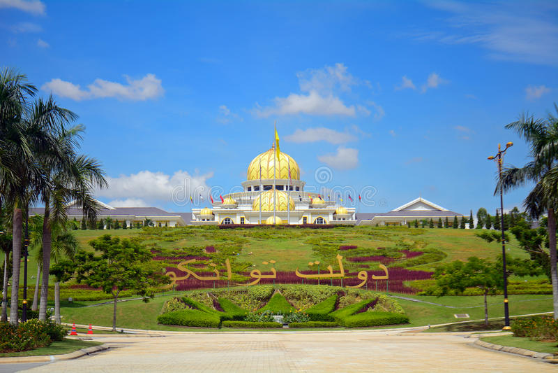 O palácio da sultão, Kuala Lumpur, Malásia foto de stock royalty free