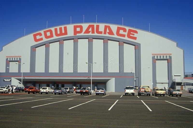 O palácio da vaca em San Francisco, Califórnia fotos de stock royalty free